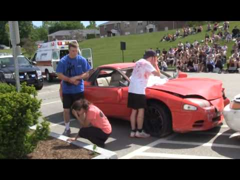 Beverly High School Mock Car Crash 2013