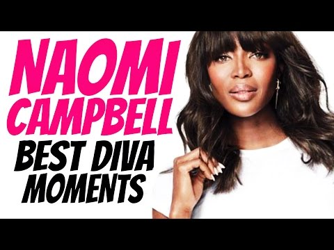 "Naomi Campbell - Best ""Diva"" Moments"