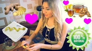 видео Имбирь с чесноком и лимоном для похудения