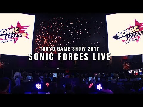 SONIC FORCES LIVE(TOKYO GAME SHOW 2017)2017.9.24
