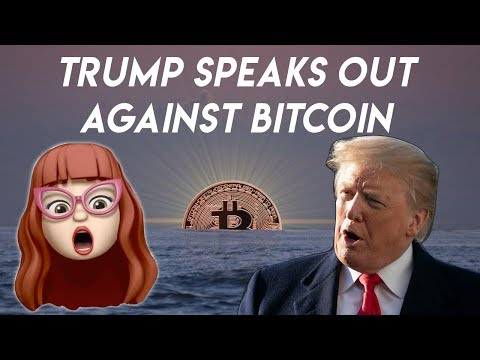 Trump Tweets About Bitcoin: