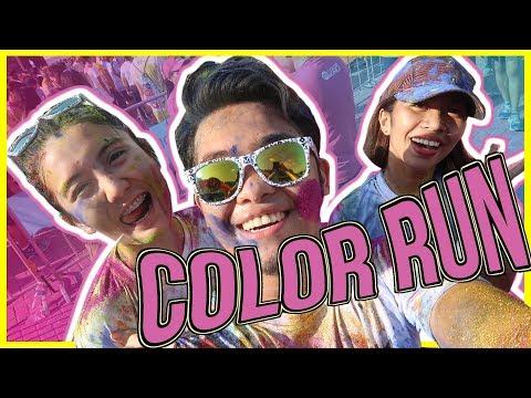FIRST TIME: Color Manila Fun Run with the iFM 939.9 Manila DJ's | CANDIYEY