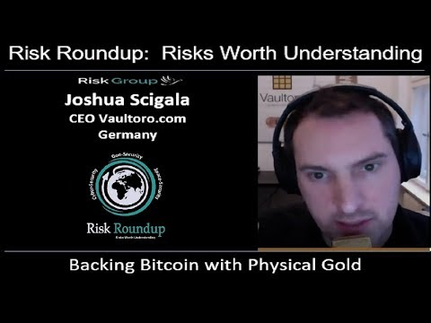 Backing Bitcoin with Physical Gold