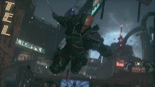 Batman Arkham Knight Deathstroke Boss Fight