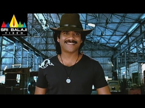 Style Movie Nagarjuna Action Scene | Lawrence, Prabhu Deva | Sri Balaji Video