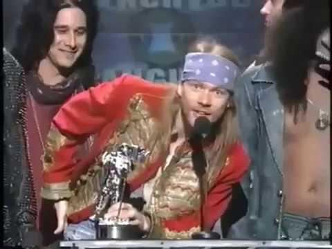 Guns N Roses  November Rain    At MTV Music Awards 1992