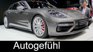 Porsche Panamera Turbo Sport Turismo (Estate Kombi) REVIEW - Autogefühl