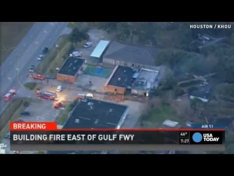 Fire erupts at Islamic school in Houston
