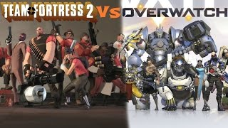 Team Fortress 2 Vs Overwatch Review