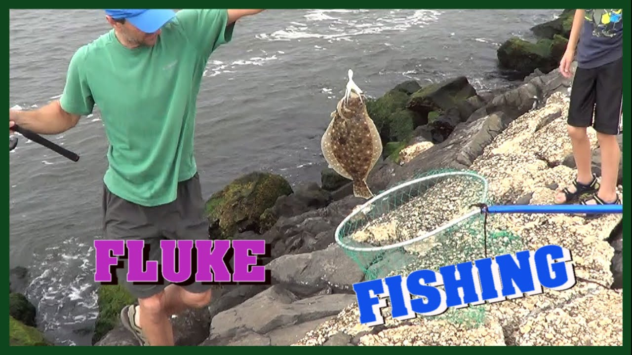 Awesome day fluke fishing at shark river inlet youtube for How much is a one day fishing license