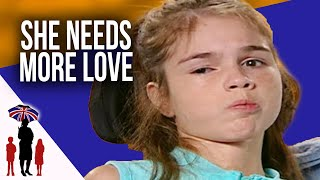 Teenager with Cerebral Palsy  just wants dad to hold her more - Supernanny USA
