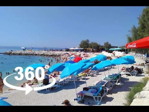 ŽNJAN BEACH — SPLIT | 360º VR | Pointers Travel