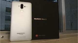 UNBOXING Huawei Mate 9 - CES 2017