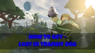 How to get the Lost in Transit Egg | ROBLOX Egg Hunt 2017