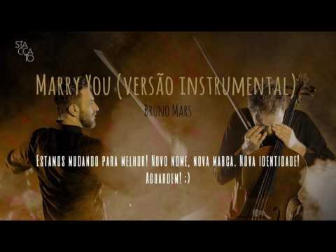 Bruno Mars - Marry You (versão instrumental)