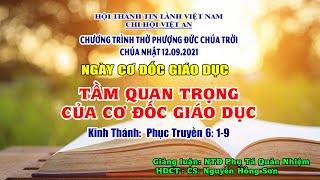 HTTL VIỆT AN - Chương trình thờ phượng Chúa - 12/09/2021