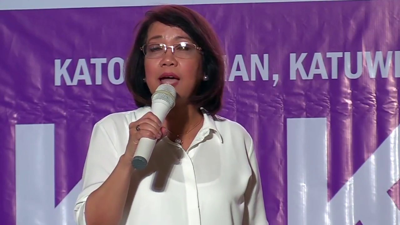 Sereno: Judiciary budget held hostage in exchange for my ouster