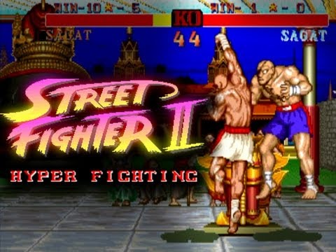 Street Fighter 2 Hyper Fighting XBox 360 Matches