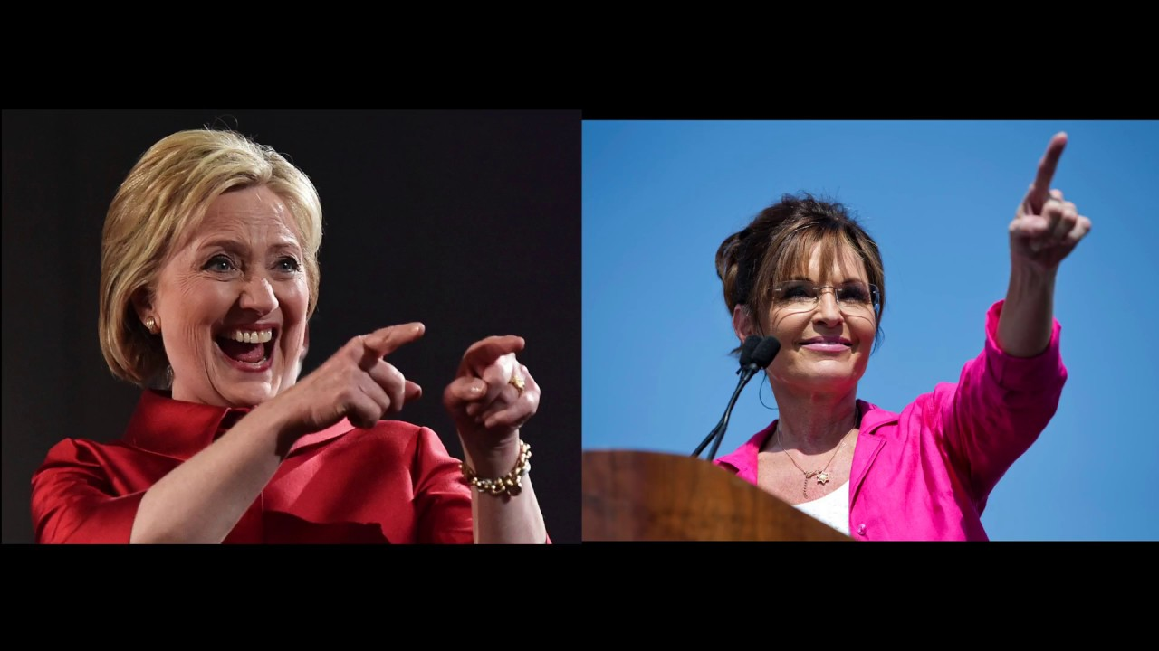 Sarah Palin is Hillary Clinton confirmed!