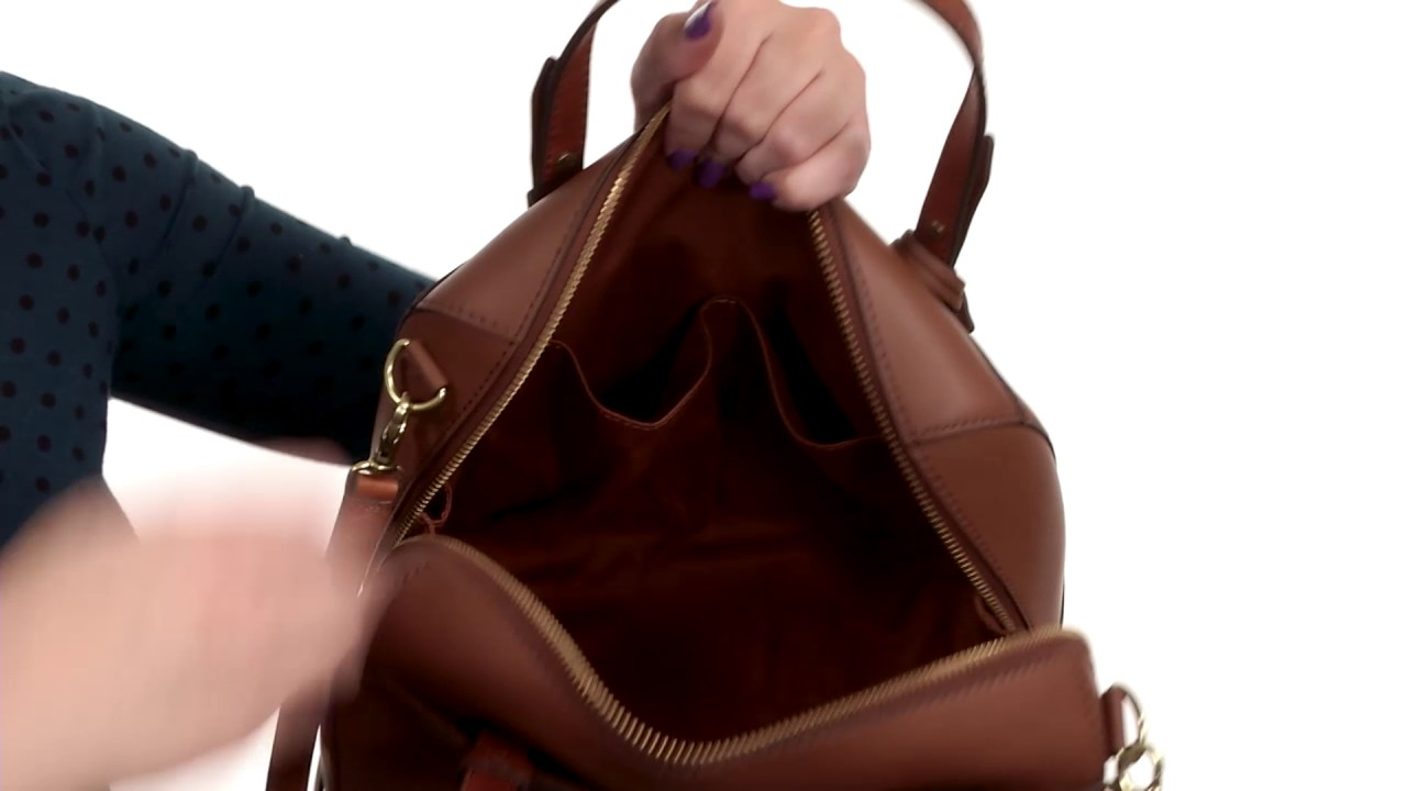 Fossil Rachel Satchel SKU 8932313 - YouTube 19f242939e157