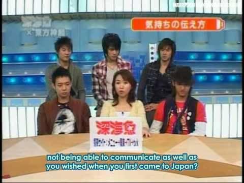 [HQ][FULL]07.02.28 THSK Interview on tvk Shinkaigyo Part 3/5