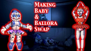 (FNAF | Speed Edit) Making Baby & Ballora Swap