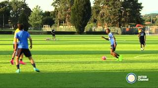 ALLENAMENTO INTER REAL AUDIO 08 09 2015