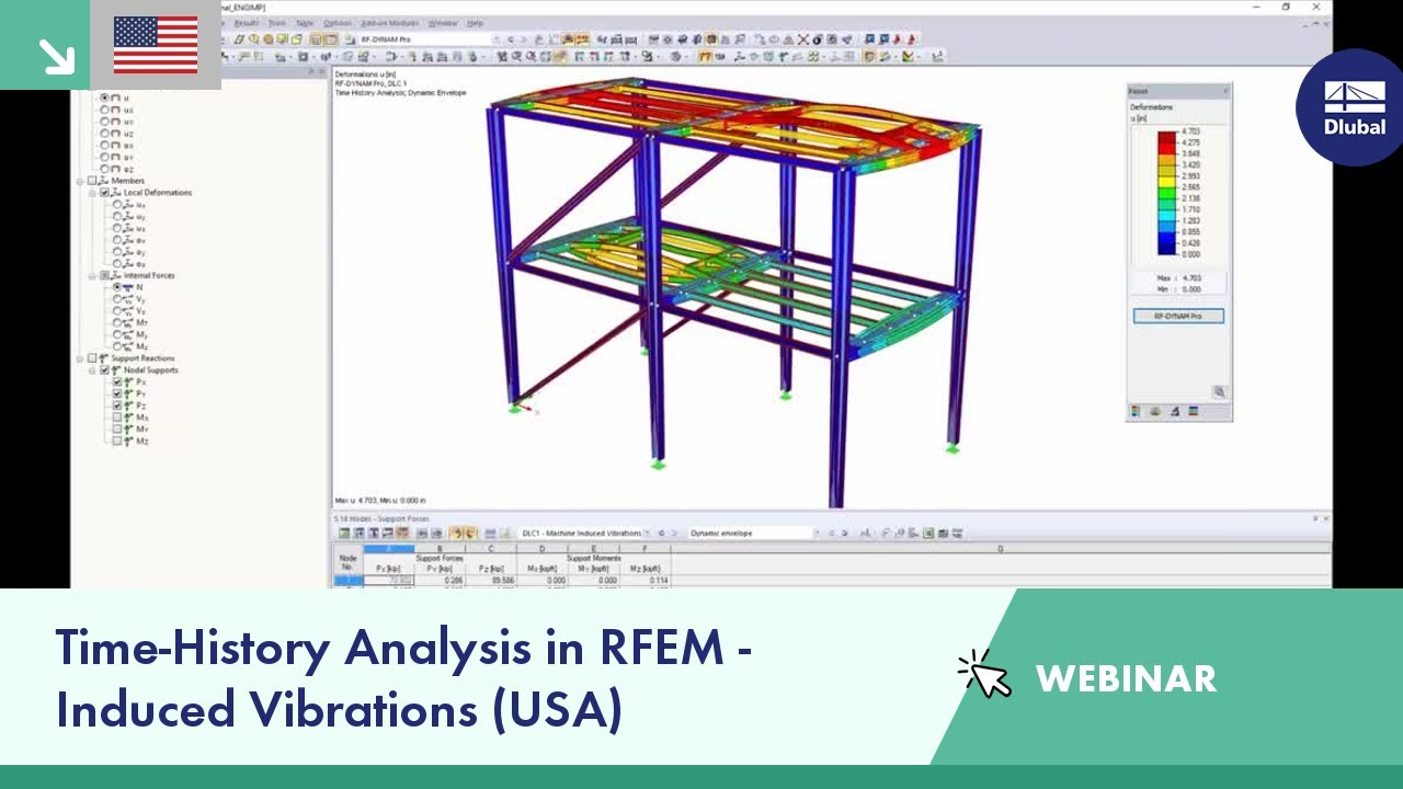 example concrete structure design with dlubal rfem