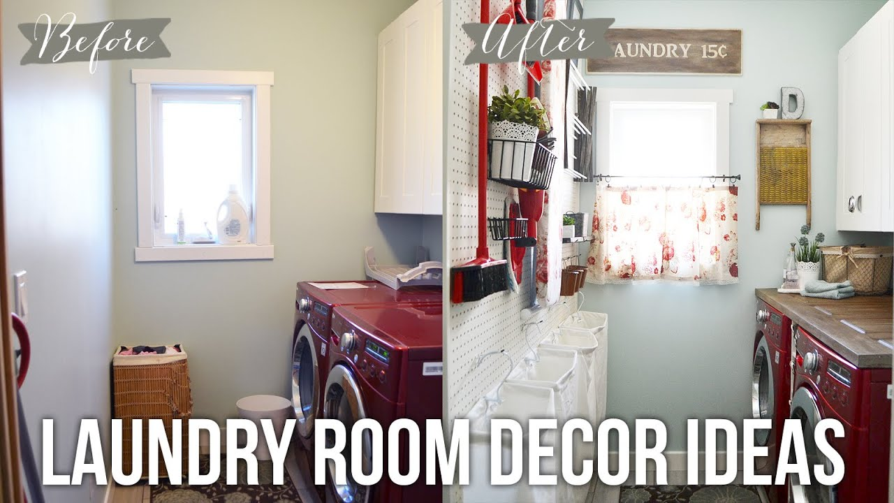 Tip Tuesday: Laundry Room Decor Ideas   YouTube Part 89