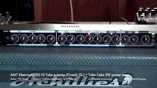 Video AMT Electronics: SS-10 Tube preamp to Tube Cake JFET 3W power amp download MP3, 3GP, MP4, WEBM, AVI, FLV Juni 2018