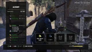 Drain Health Poison IX - Alchemist Writ (The Elder Scrolls Online)