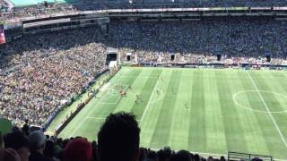 Seattle Sounders vs Portland Timbers at Century Link (5/27/2017) part2