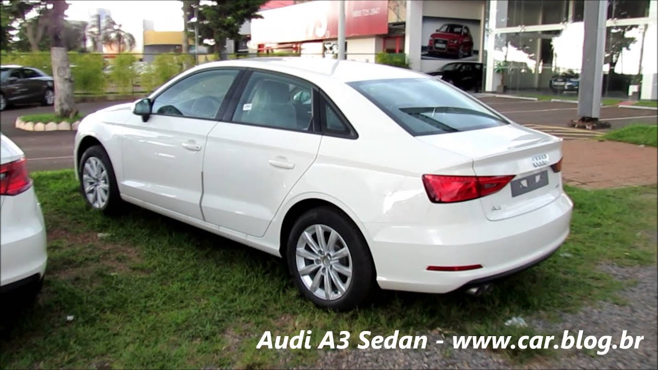 audi a3 sedan attraction 1 4 turbo youtube. Black Bedroom Furniture Sets. Home Design Ideas