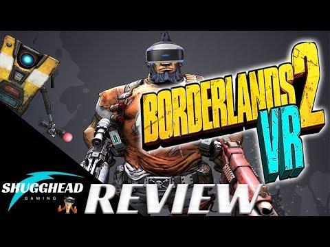 Borderlands 2 VR - PSVR Review: Borderlands 2 gets new life in VR | PS4 Pro Gameplay