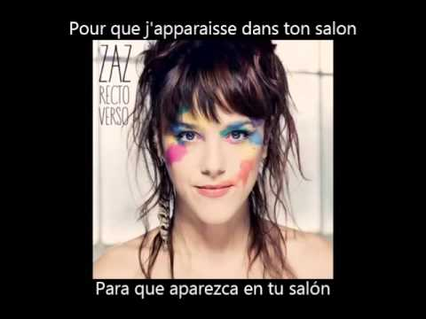 ZAZ -  Gamine (Paroles + Subs en Español)