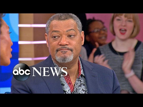 Laurence Fishburne Interview on Playing Nelson Mandela in