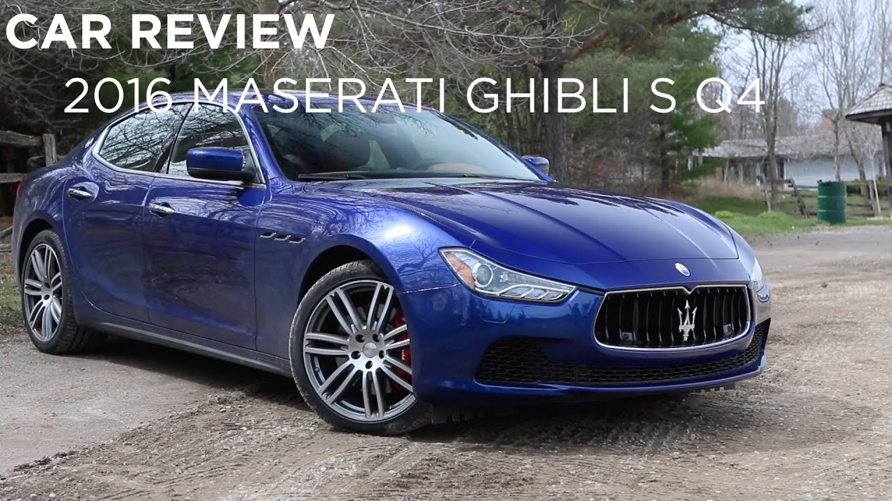 Maserati Ghibli S Q4 >> Car Review | 2016 Maserati Ghibli S Q4 | Driving.ca - YouTube