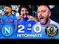 �� RITORNATI!!! NAPOLI 2-0 VENEZIA | LIVE REACTION NAPOLETANI AL MARADONA HD