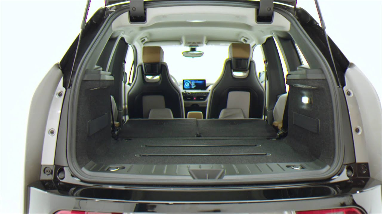 bmw i3 interior and exterior storage bmw genius how to youtube. Black Bedroom Furniture Sets. Home Design Ideas