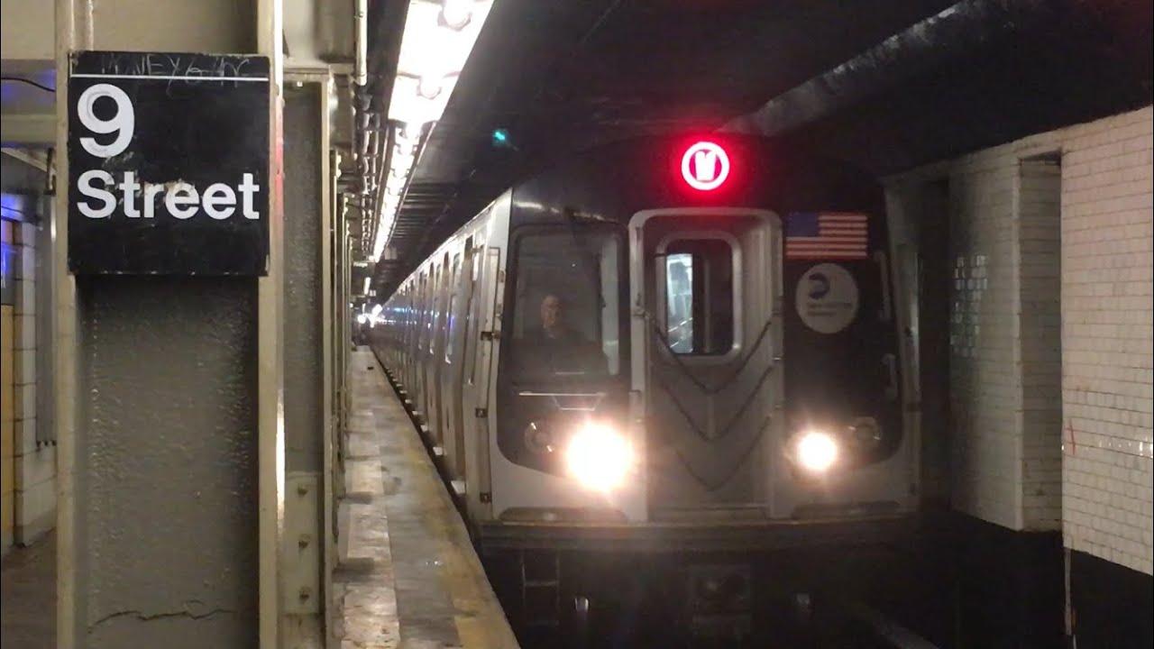 IND/BMT Subway: (F) (G) (R) (W) Trains @ 4th Avenue-9th St ...
