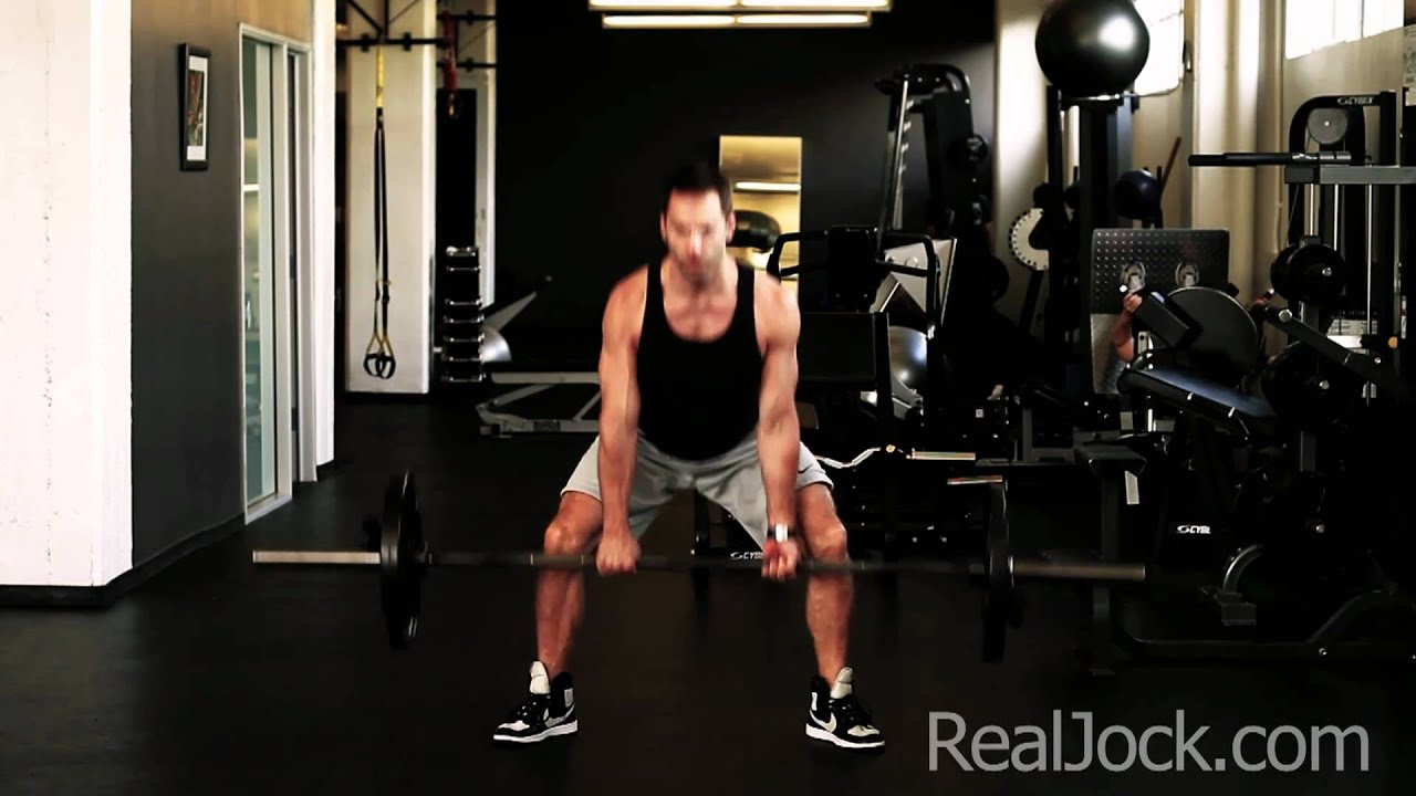 Barbell Sumo Deadlifts - YouTube