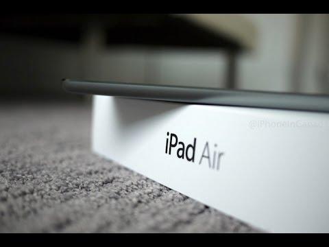 IPad Air Slate Grey Unboxing (16GB Wi-Fi)