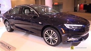 2018 Buick Regal Sportback - Exterior and Interior Walkaround - Debut at 2017 New York Auto Show