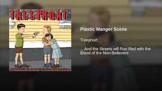 Plastic Manger Scene