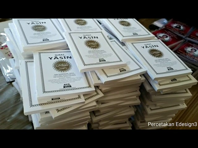 Cetak Cover Buku Yasin Hardcover