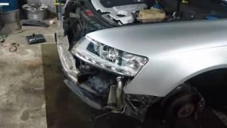Audi A6 4f Facelift Scheinwerfer Umbau