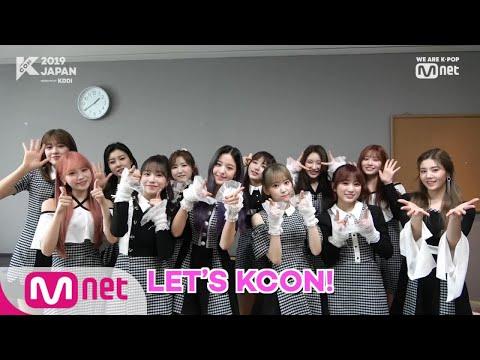 KCON2019JAPAN Konnichiwa IZONE