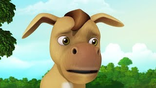 The Donkey With No Brain | Stories for Kids | Infobells