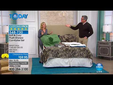 HSN | HSN Today: Soft & Cozy Home Clearance 01.04.2018 - 07 AM