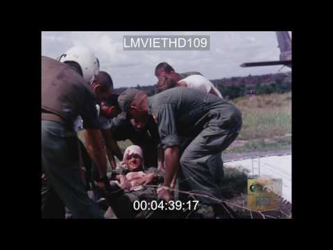 EVACUATION OF CASUALTIES OF THE 173rd AIRB BRIGADE TO THE 93rd SURGICAL FIELD HOSPITAL - VIETNAM WAR